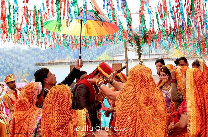 Traditional wedding of Kumaun