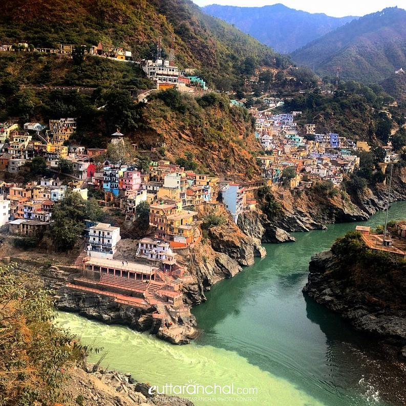 Where two legendary Rivers unites and become Holy Ganges