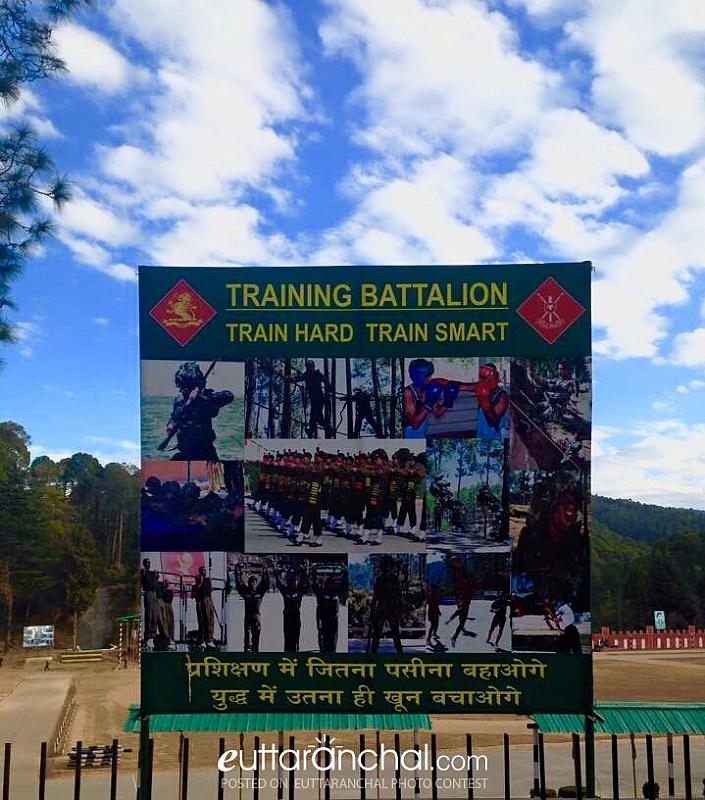 Kumaon Regiment- the pride of Ranikhet and UK.