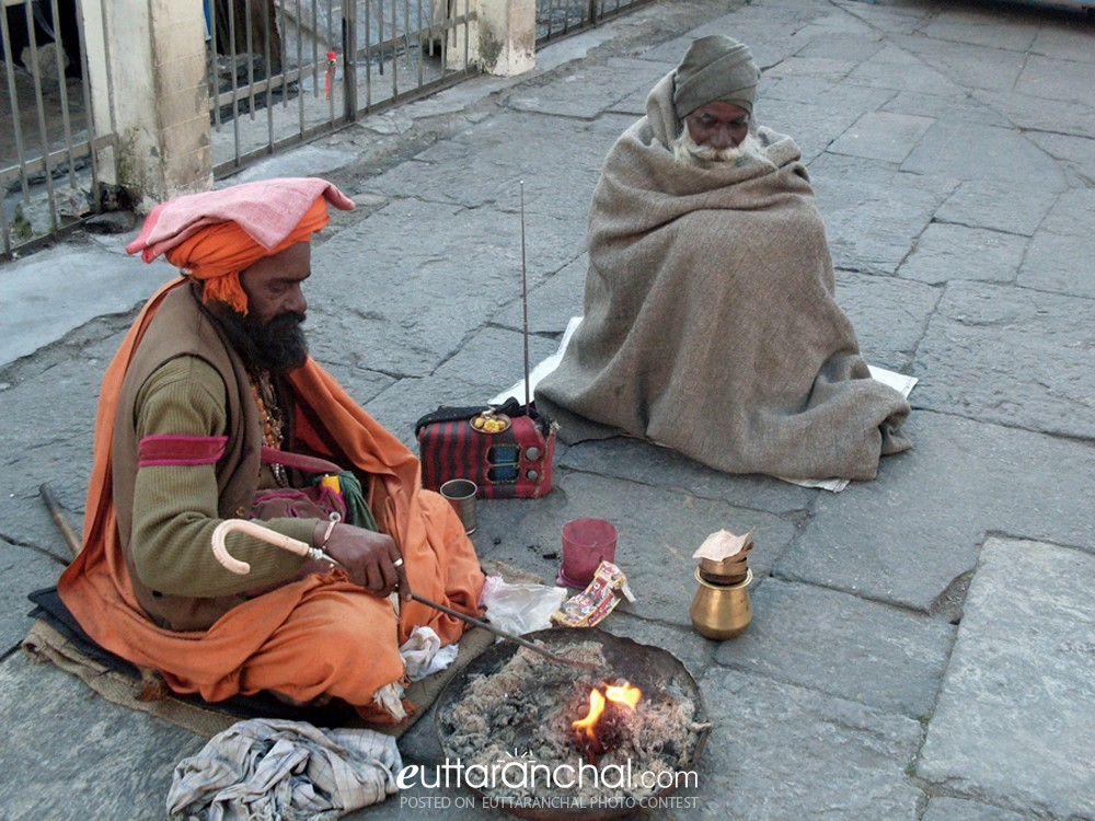 Ascetic Life Of Saints Uttarakhand Photos