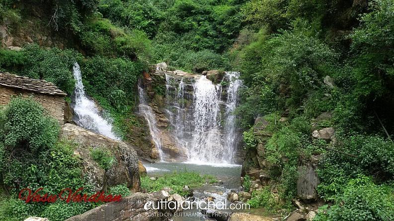 Waterfalls near Barkot