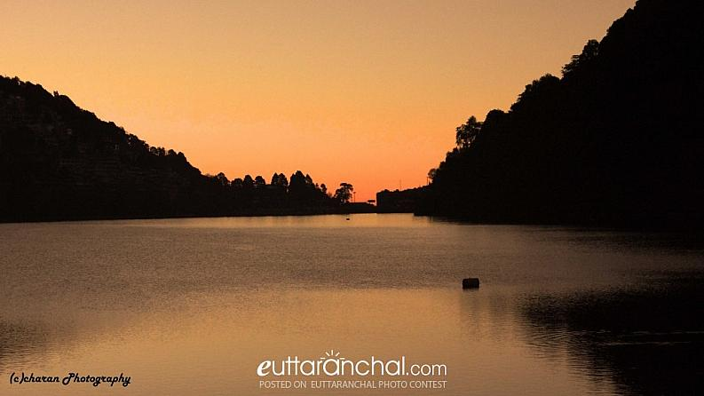 Sunrise at Nainital