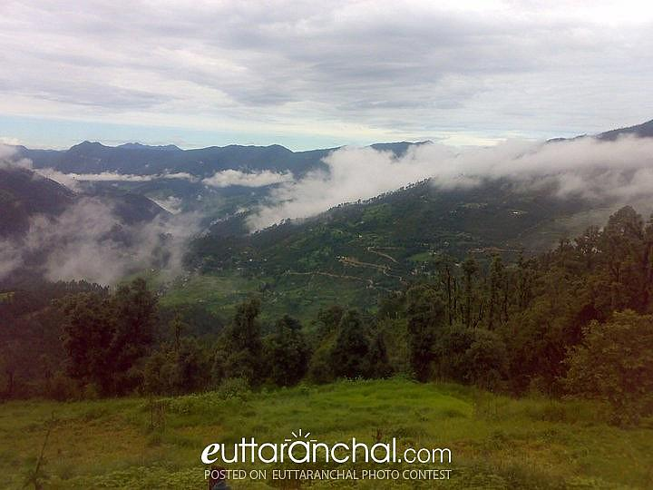 Beautiful Uttarakhand in rainy season