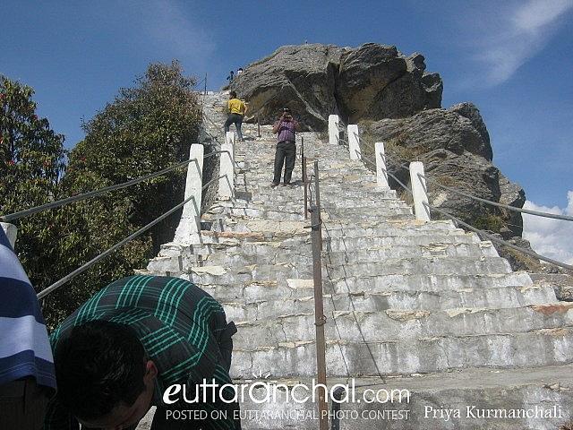 Kartik Swami Temple Steps