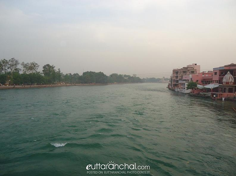 Feel calm  with Ganga Ji
