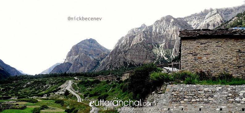 Gungi village, Dharchula