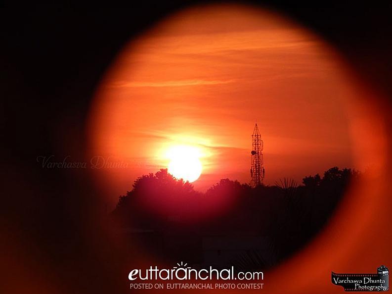 Sunset in Doon Valley