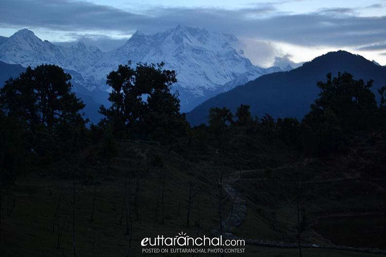 Mt. Choukhamba form Deoriatal