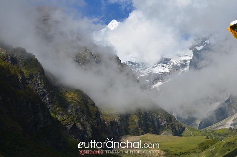 Mountains near Badrinath