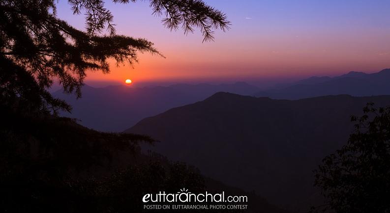 Sunsetfrom Chakrata