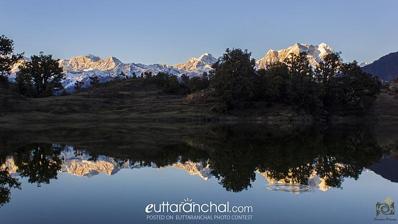 The Himalayan Range in DeoriyaTaal