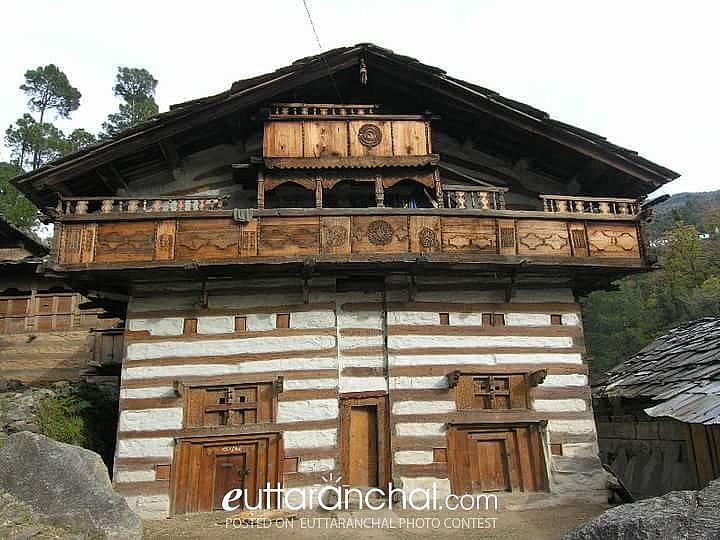 Traditional Jaunsari House