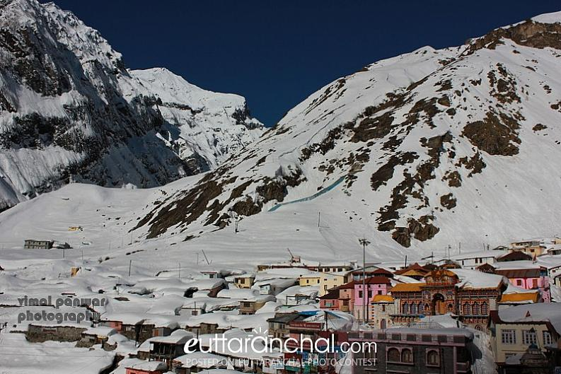 Badrinath in Winters