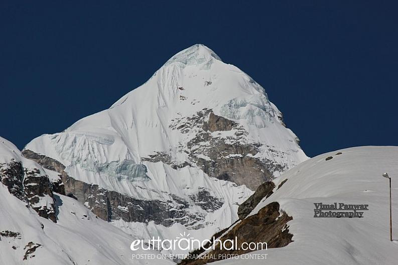 Nilkanth peak from Badrinath