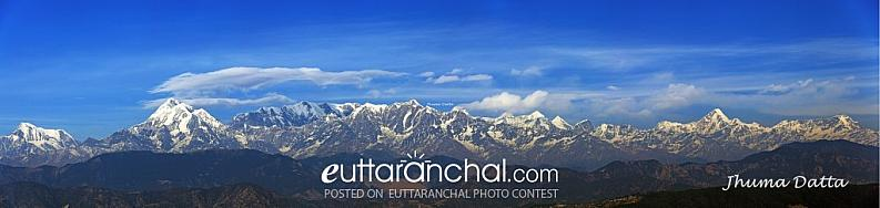 The Himalayas from Kausani