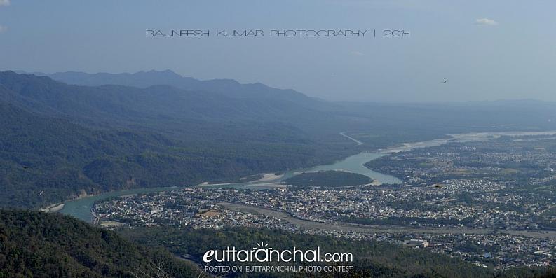 Rishikesh view from Narendranagar