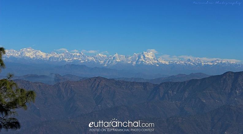Chaukhamba Peak Himalaya
