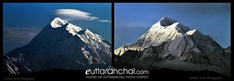 Trishul in light of Morning And Evening