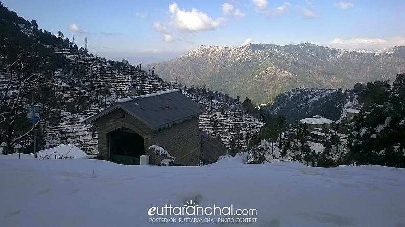 Only snow view option @ Ramgarh