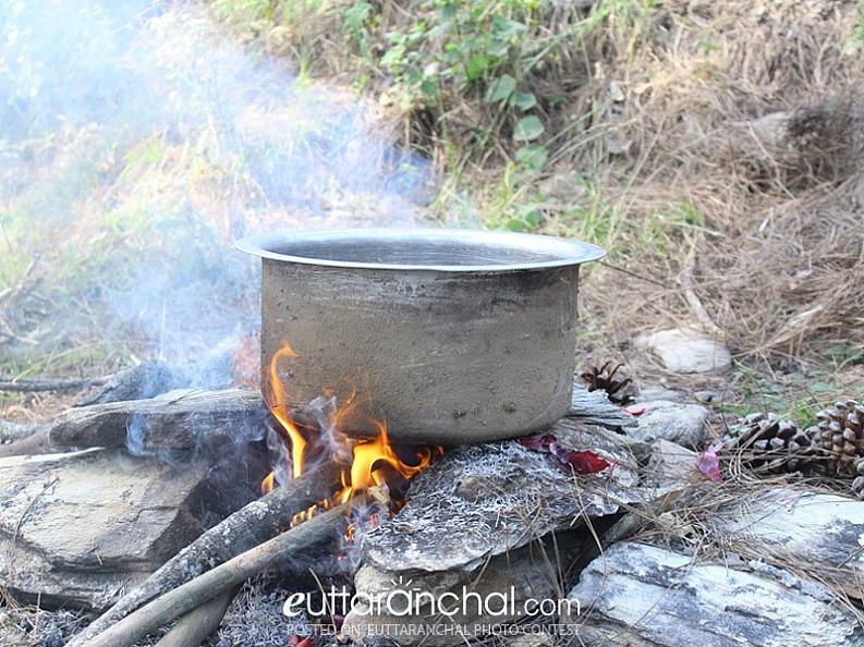 Making a food