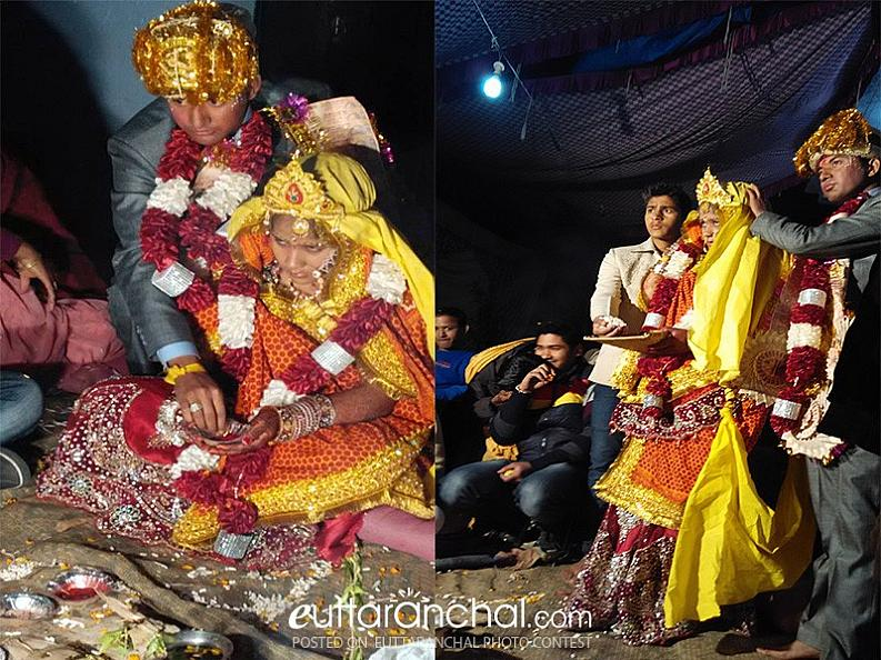 Rituals at Kumaoni Wedding