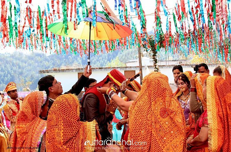 Traditional wedding of Kumaun
