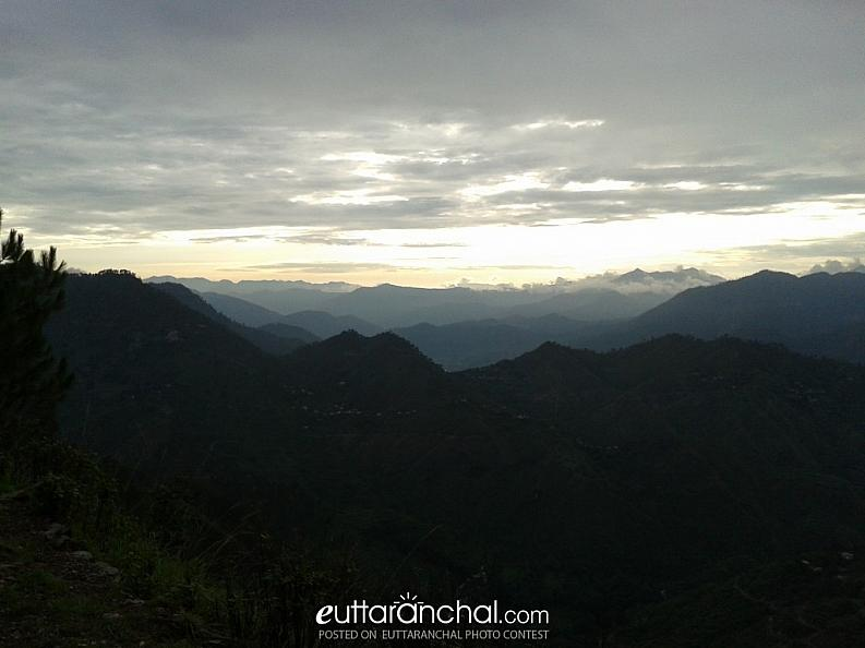 Evening view from Pauri