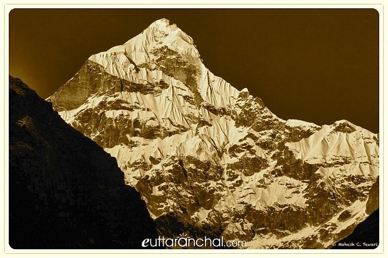 Neelkanth Peak from Badrinath