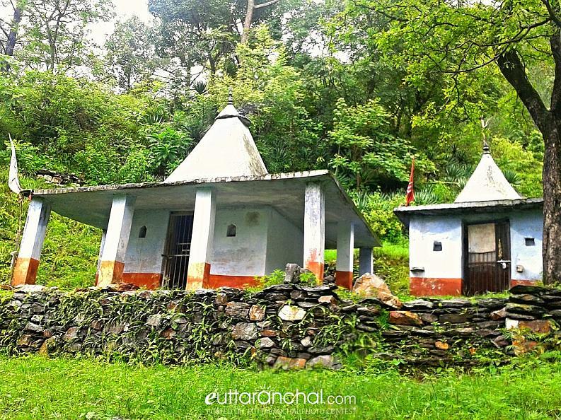 A Village Nagli temple