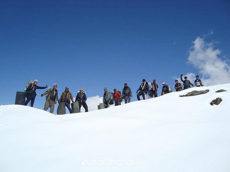 Chandrashila trek in March