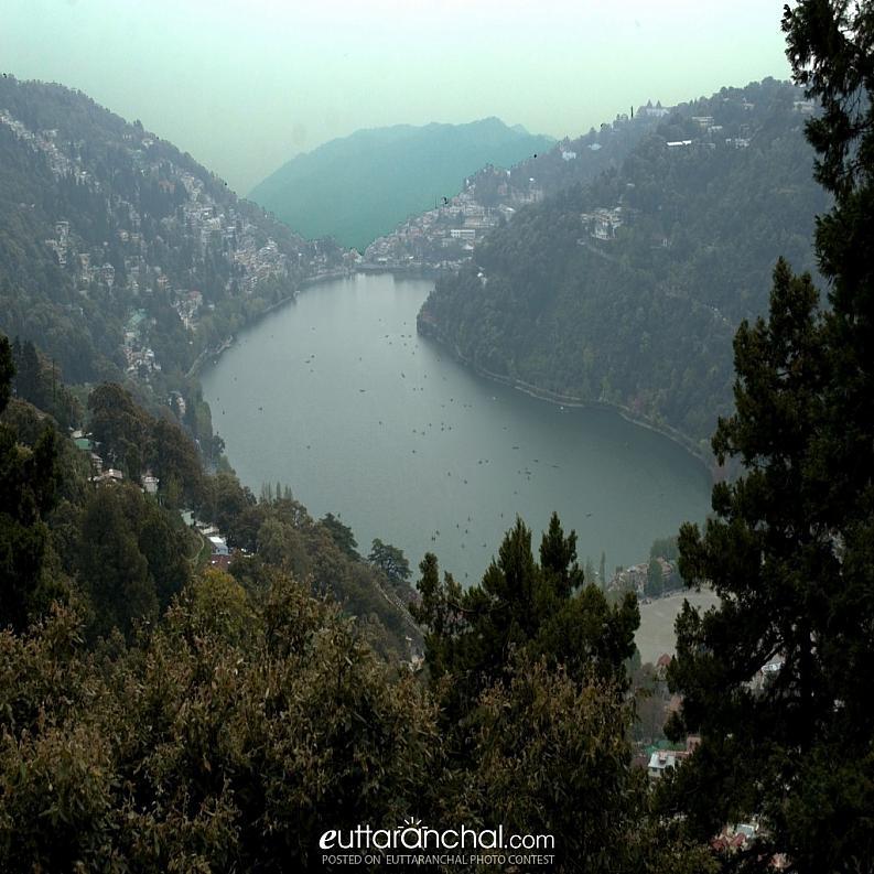 Nainital- A bird eye view