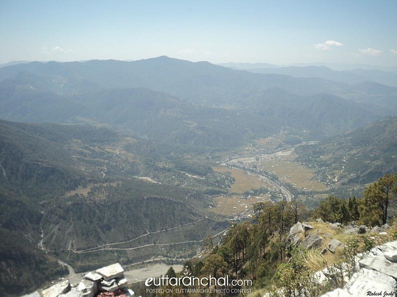 Beautiful View Of Bharari From Chirpat Kot