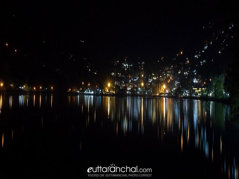 Reflection in the nainital