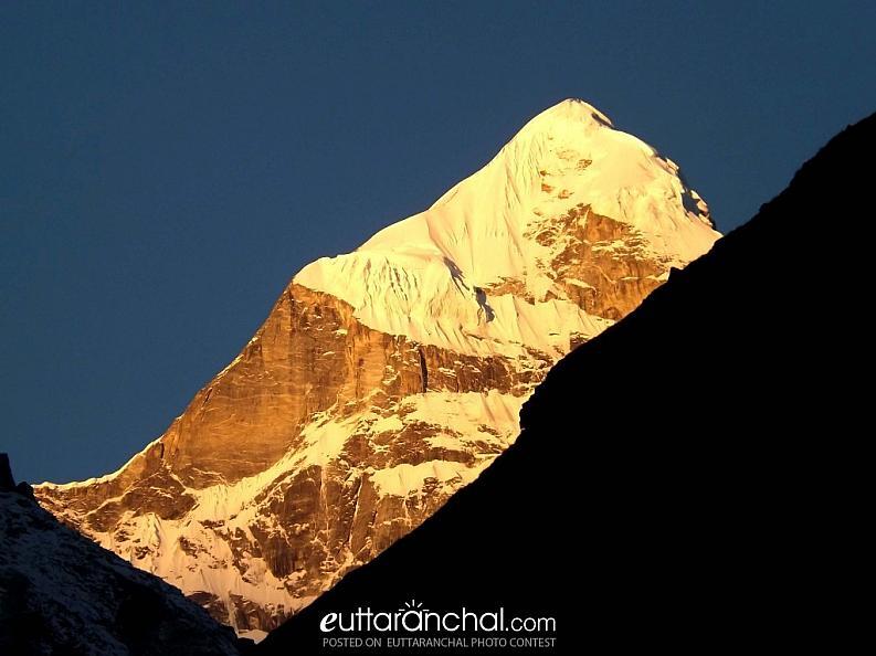The Neelkanth Peak at Sunrise