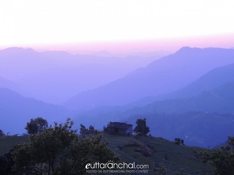 Good Morning..Sunrise in Binsar