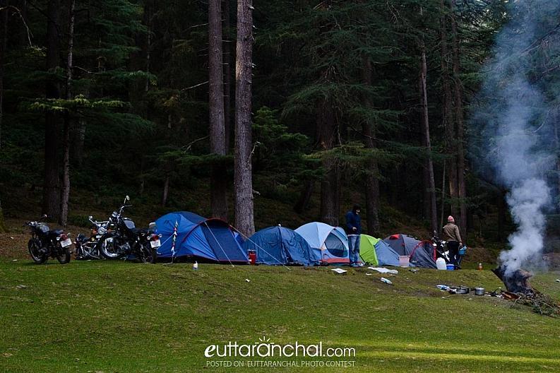 A beautiful campsite.