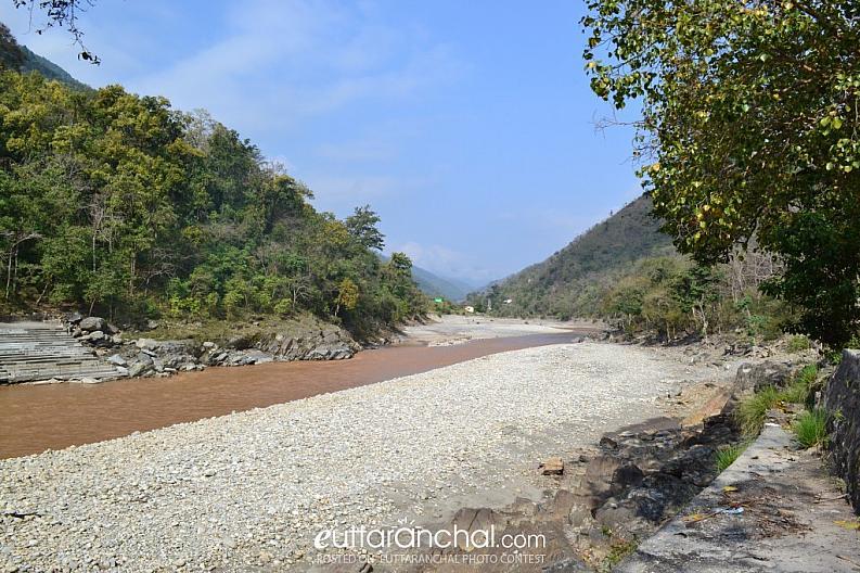 The beautiful Saryu River