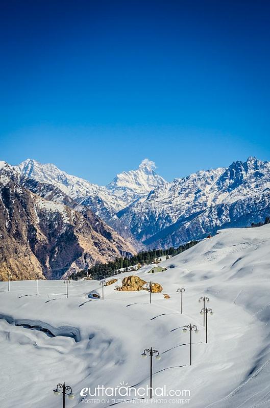 Auli Ski Slopes