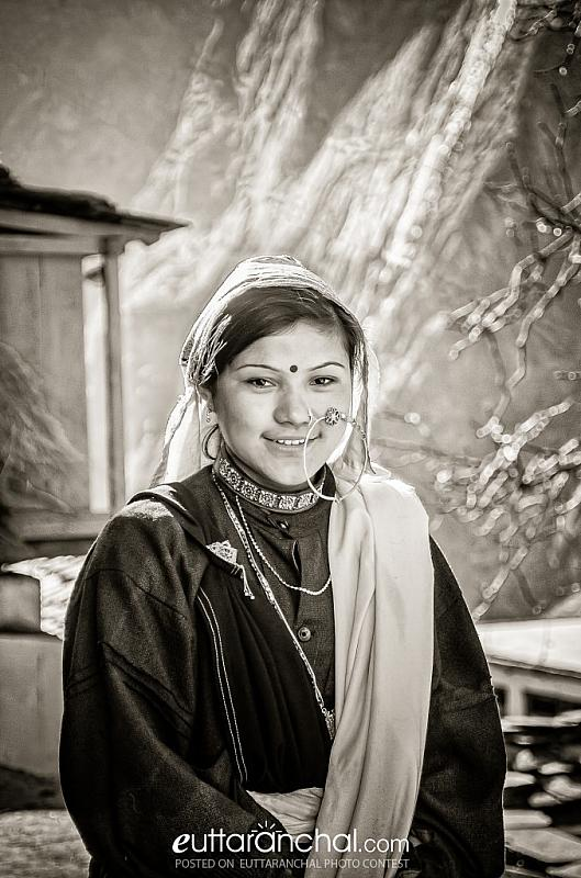 Traditional smile