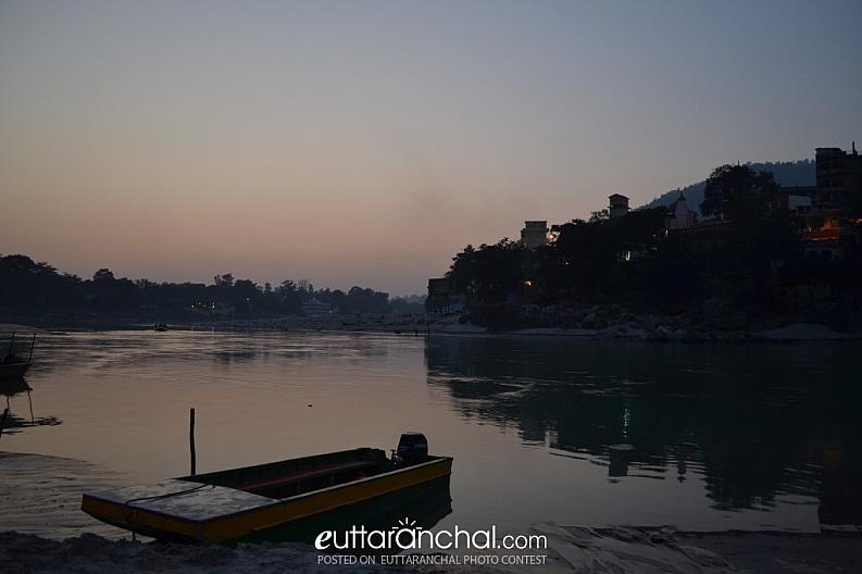 Ganga Ghat. Rishikesh