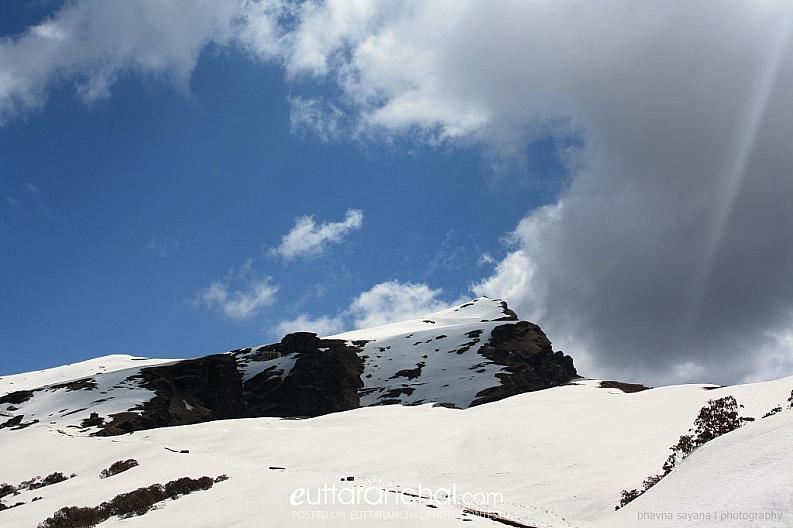 When cloud met the mountain..