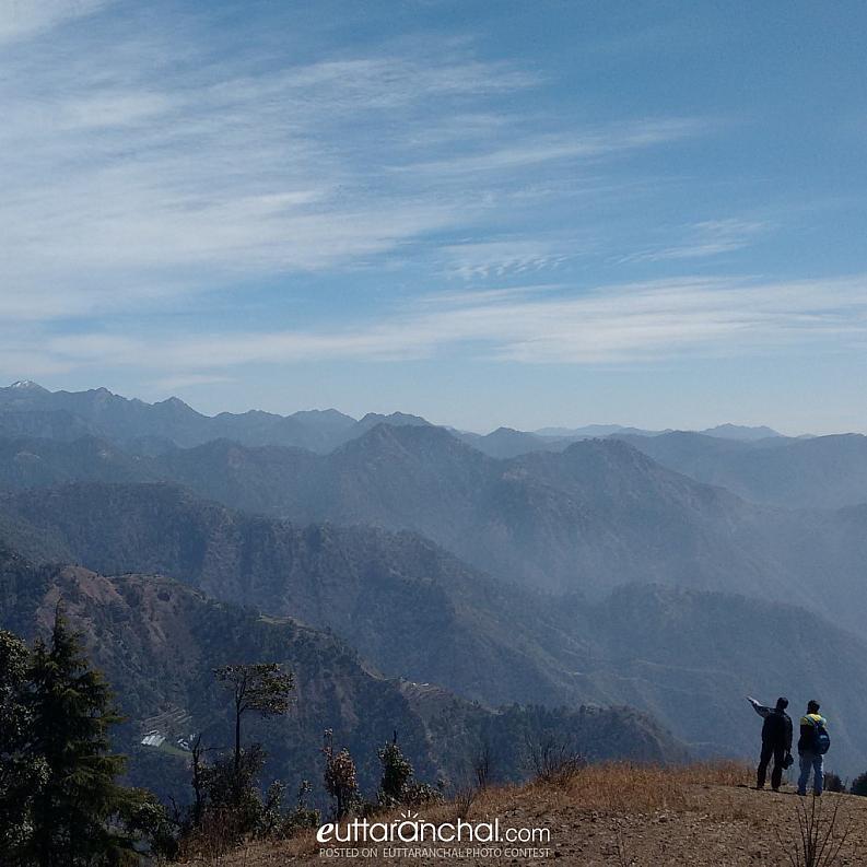 Surkanda Devi Temple Hilltop