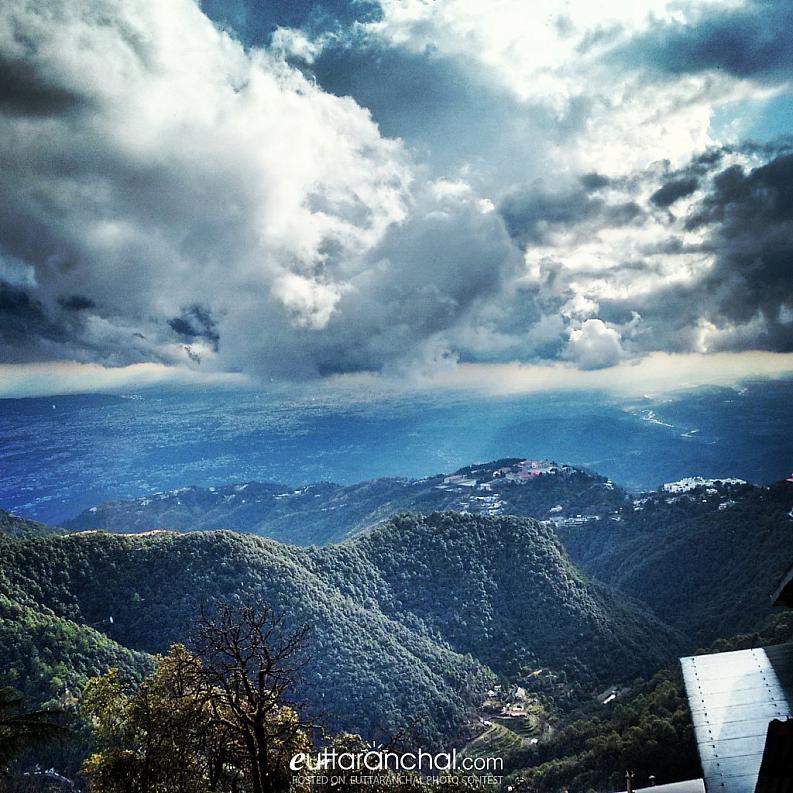 Dehradun View from Mussoorie