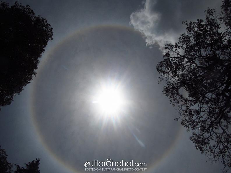 Solar Ring -A rare Phenomina !