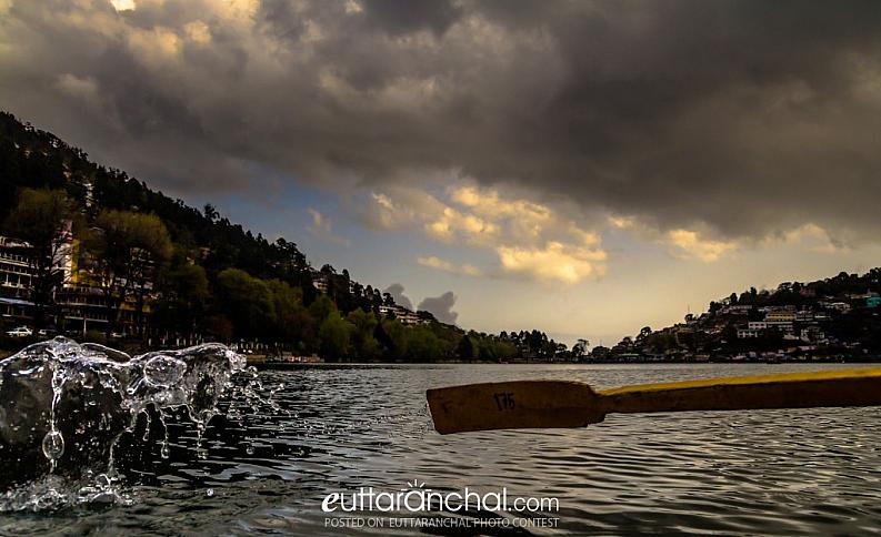 Splash of Naini Lake