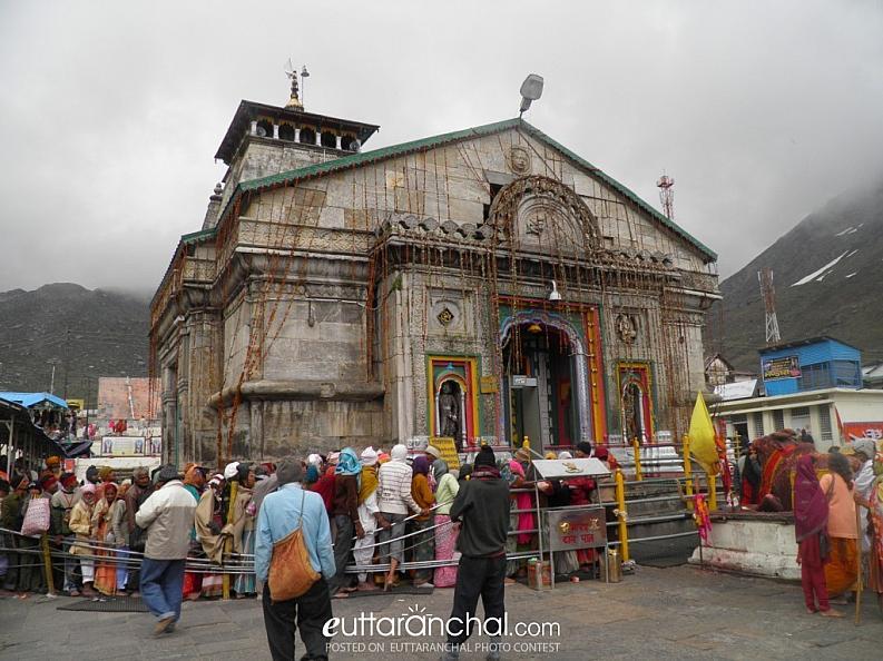 Shri Kedarnath Temple at Full Glory