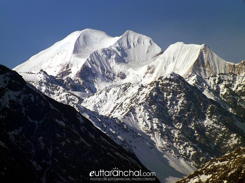 Peaks of Himalayas