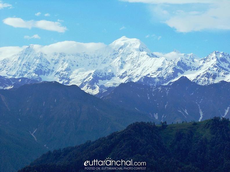 Three Shades of Mountain in Uttarakhand