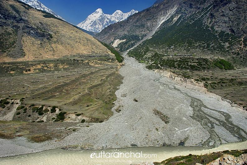 Confluence of Pachu nala and Gori Ganga