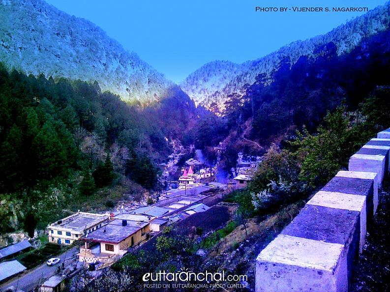 Morning View of Kainchi Village